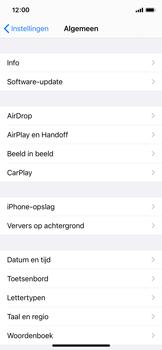 Apple iPhone 12 mini - software - update installeren zonder pc - stap 4