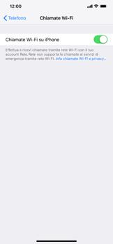 Apple iPhone XS Max - WiFi - Attivare WiFi Calling - Fase 8