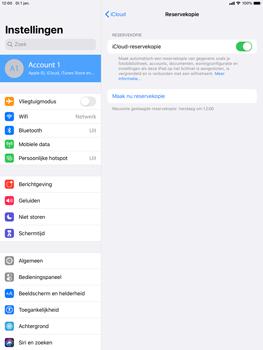 Apple iPad Air (2019) - iPadOS 13 - Data - maak een back-up met je account - Stap 14