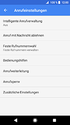 Sony Xperia XZ1 Compact - Anrufe - Rufumleitungen setzen und löschen - 7 / 12