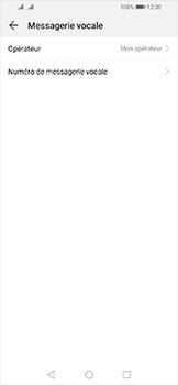 Huawei Y6 (2019) - Messagerie vocale - Configuration manuelle - Étape 7