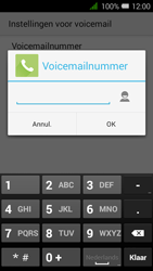 Alcatel OT-4027X Pixi 3 (4.5) - Voicemail - handmatig instellen - Stap 9