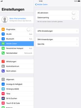 Apple ipad-pro-9-7-inch-mit-ios-11 - Netzwerk - Netzwerkeinstellungen ändern - Schritt 6