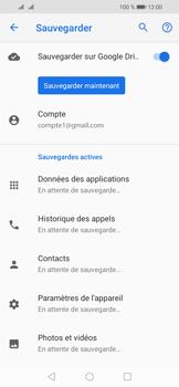 Huawei Y6 (2019) - Données - créer une sauvegarde avec votre compte - Étape 12