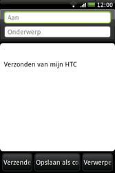 HTC A6262 Hero - E-mail - E-mails verzenden - Stap 6