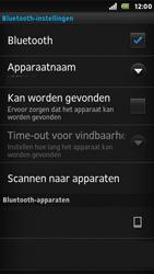 Sony ST25i Xperia U - Bluetooth - Koppelen met ander apparaat - Stap 10