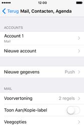 Apple iPhone 4S iOS 9 - E-mail - handmatig instellen - Stap 16