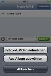 Apple iPhone 3GS - MMS - Erstellen und senden - 10 / 16