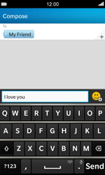 BlackBerry Z10 - MMS - Sending pictures - Step 8
