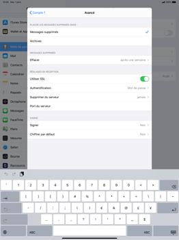 Apple iPad Pro 12.9 (1st gen) - ipados 13 - E-mail - configuration manuelle - Étape 23