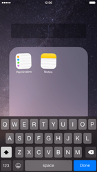 Apple iPhone 6 iOS 8 - Getting started - Personalising your Start screen - Step 6