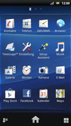 Sony Ericsson Xperia X10 - Apps - Konto anlegen und einrichten - Schritt 3