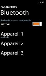 Nokia Lumia 800 / Lumia 900 - Bluetooth - Jumelage d