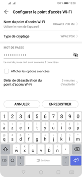 Huawei P30 Lite - WiFi - Comment activer un point d'accès WiFi - Étape 11