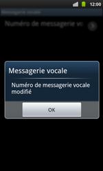 Samsung I9001 Galaxy S Plus - Messagerie vocale - configuration manuelle - Étape 10