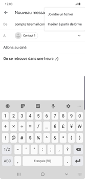 Samsung Galaxy Note10 Plus - E-mail - envoyer un e-mail - Étape 10