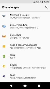 Sony Xperia XA2 Ultra - Netzwerk - Netzwerkeinstellungen ändern - 4 / 8