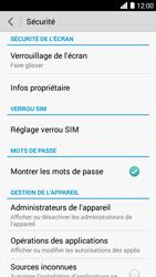 Bouygues Telecom Ultym 5 - Sécuriser votre mobile - Personnaliser le code PIN de votre carte SIM - Étape 5