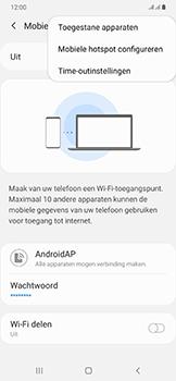 Samsung galaxy-a50-dual-sim-sm-a505fn - WiFi - Mobiele hotspot instellen - Stap 8