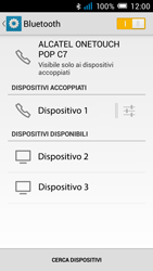 Alcatel Pop C7 - Bluetooth - collegamento dei dispositivi - Fase 9