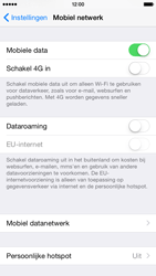 Apple iPhone 6 iOS 8 - Internet - Handmatig instellen - Stap 9