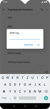 OnePlus 6T - Android Pie - MMS - Manuelle Konfiguration - Schritt 15