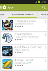 Samsung S6790 Galaxy Fame Lite - apps - app store gebruiken - stap 10