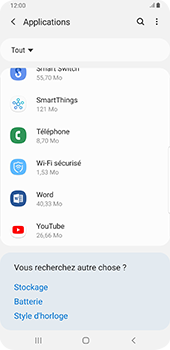 Samsung Galaxy Note9 - Android Pie - Applications - Comment désinstaller une application - Étape 8