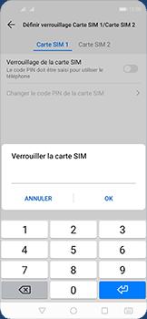 Huawei Nova 5T - Prise en main - Comment activer un code SIM - Étape 10