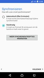 Sony xperia-xz-premium-g8141 - E-mail - Account instellen (POP3 zonder SMTP-verificatie) - Stap 20