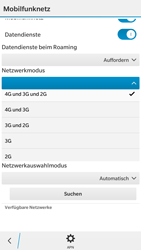 BlackBerry Leap - Netzwerk - Netzwerkeinstellungen ändern - 7 / 8