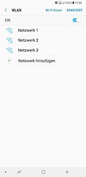 Samsung Galaxy A8 Plus (2018) - WLAN - Manuelle Konfiguration - Schritt 7