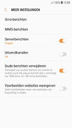 Samsung Galaxy A3 (2017) - Android Oreo - SMS - handmatig instellen - Stap 7