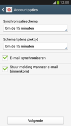Samsung I9505 Galaxy S IV LTE - E-mail - Account instellen (POP3 met SMTP-verificatie) - Stap 16