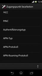 Sony Xperia L - Internet - Manuelle Konfiguration - Schritt 13