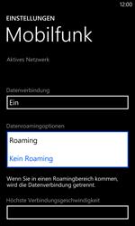 Nokia Lumia 1020 - Ausland - Im Ausland surfen – Datenroaming - Schritt 8