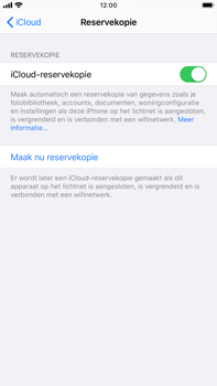 Apple iPhone 8 Plus - iOS 13 - Data - Maak een back-up met je account - Stap 12