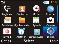Samsung S3570 Chat 357 - Bellen - in het buitenland - Stap 3