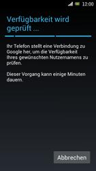 Sony Ericsson Xperia Ray mit OS 4 ICS - Apps - Konto anlegen und einrichten - Schritt 7