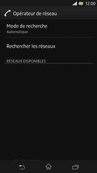 Sony Xperia Z - Réseau - Sélection manuelle du réseau - Étape 7