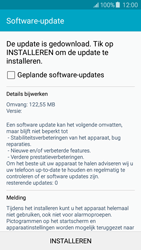 Samsung J500F Galaxy J5 - Software updaten - Update installeren - Stap 9