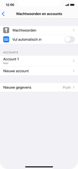 Apple iphone-11-pro-model-a2215 - E-mail - Account instellen (IMAP zonder SMTP-verificatie) - Stap 28