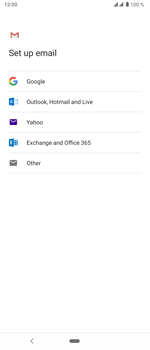 Sony Xperia 5 - E-mail - 032c. Email wizard - Outlook - Step 8
