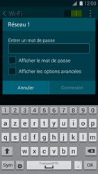 Samsung Galaxy S 5 - WiFi - Configuration du WiFi - Étape 7