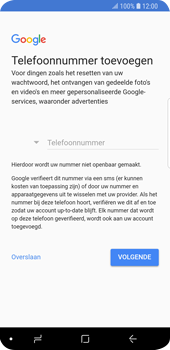 Samsung Galaxy S9 (SM-G960F) - Applicaties - Account aanmaken - Stap 14