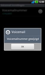 LG P970 Optimus Black - Voicemail - handmatig instellen - Stap 8