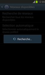 Samsung Galaxy S III Mini - Réseau - Sélection manuelle du réseau - Étape 8