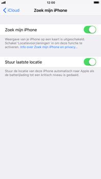 Apple iPhone 7 Plus iOS 11 - Beveiliging en privacy - zoek mijn iPhone activeren - Stap 8