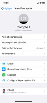 Apple iPhone X - iOS 13 - Données - créer une sauvegarde avec votre compte - Étape 8