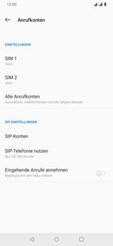 OnePlus 6T - Anrufe - Rufumleitungen setzen und löschen - 8 / 14